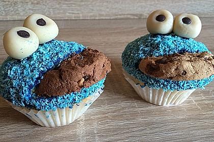 Krümelmonster Cupcakes 116