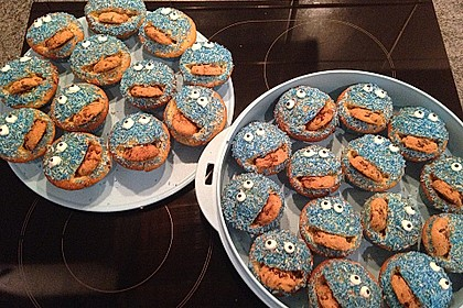 Krümelmonster Cupcakes 109
