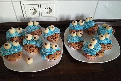 Krümelmonster Cupcakes 117