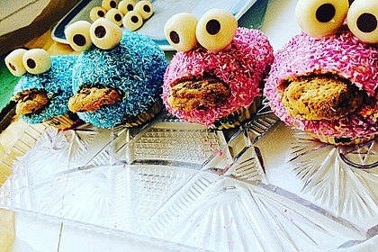 Krümelmonster Cupcakes 61