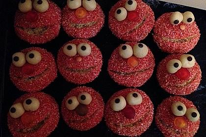 Krümelmonster Cupcakes 10