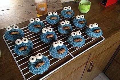 Krümelmonster Cupcakes 182