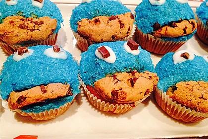 Krümelmonster Cupcakes 206