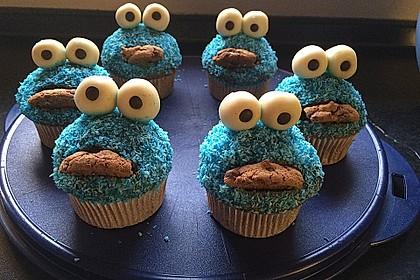 Krümelmonster Cupcakes 107
