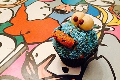 Krümelmonster Cupcakes 132