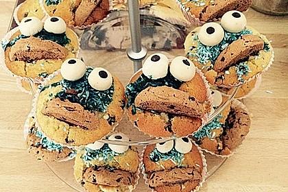 Krümelmonster Cupcakes 201