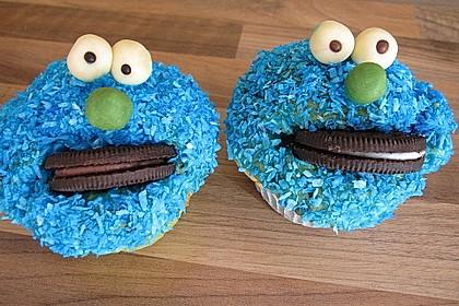Krümelmonster Cupcakes 98