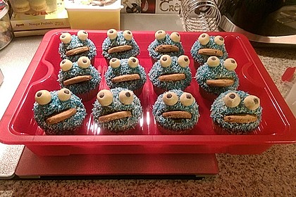 Krümelmonster Cupcakes 188