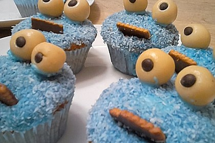 Krümelmonster Cupcakes 156