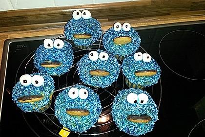 Krümelmonster Cupcakes 125