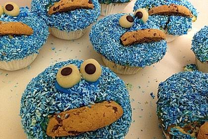 Krümelmonster Cupcakes 82