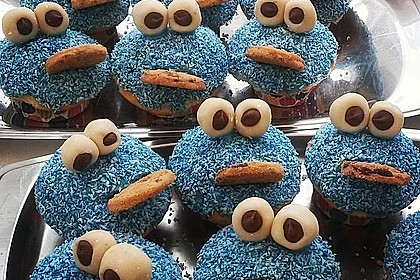 Krümelmonster Cupcakes 207