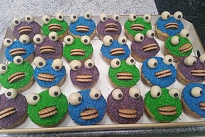Krümelmonster Cupcakes 191