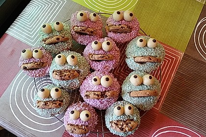 Krümelmonster Cupcakes 51