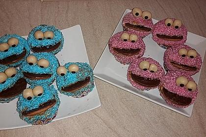 Krümelmonster Cupcakes 60