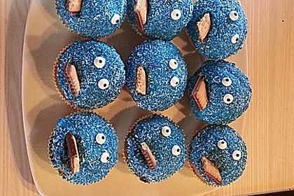 Krümelmonster Cupcakes 86