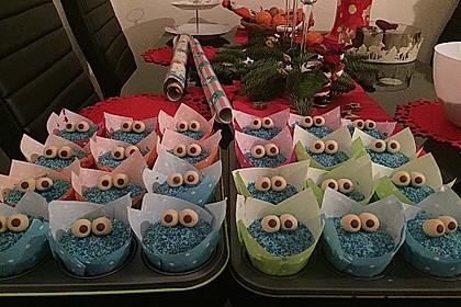 Krümelmonster Cupcakes 75