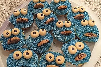 Krümelmonster Cupcakes 199