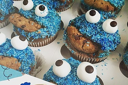 Krümelmonster Cupcakes 74