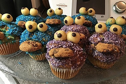 Krümelmonster Cupcakes 110
