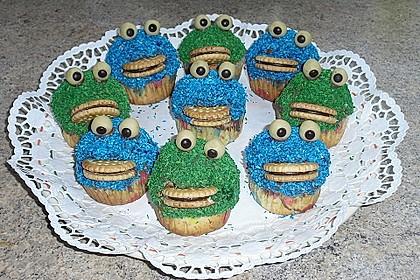 Krümelmonster Cupcakes 205