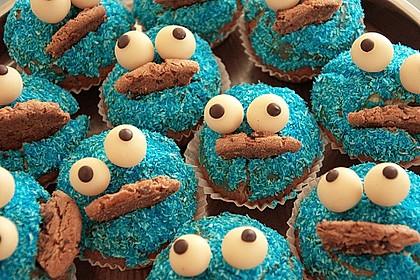 Krümelmonster Cupcakes 87