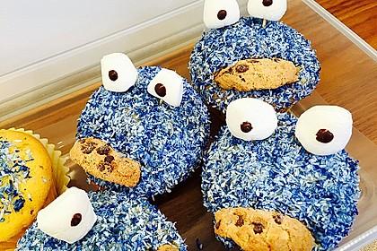 Krümelmonster Cupcakes 179