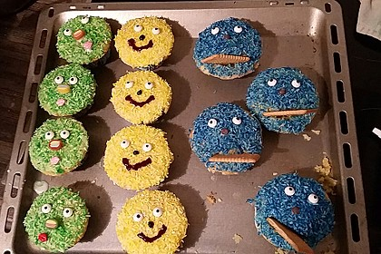 Krümelmonster Cupcakes 139