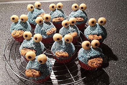 Krümelmonster Cupcakes 222