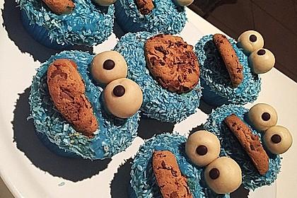 Krümelmonster Cupcakes 221