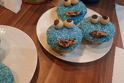 Krümelmonster Cupcakes 186
