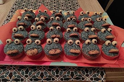 Krümelmonster Cupcakes 204