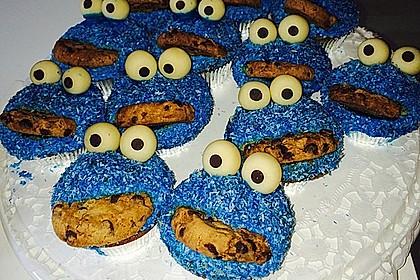 Krümelmonster Cupcakes 150