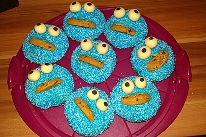 Krümelmonster Cupcakes 155