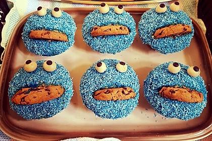 Krümelmonster Cupcakes 78