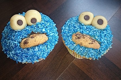 Krümelmonster Cupcakes 97