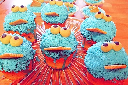 Krümelmonster Cupcakes 112