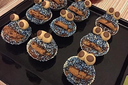 Krümelmonster Cupcakes 105