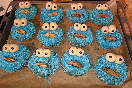Krümelmonster Cupcakes 197