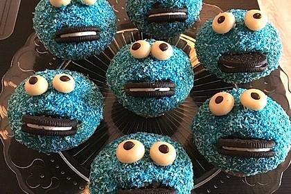 Krümelmonster Cupcakes 64