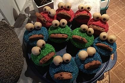 Krümelmonster Cupcakes 120
