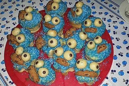 Krümelmonster Cupcakes 227