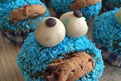 Krümelmonster Cupcakes 94