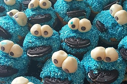 Krümelmonster Cupcakes 53