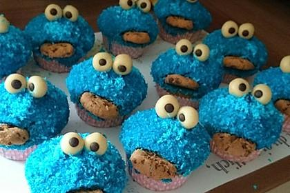 Krümelmonster Cupcakes 181