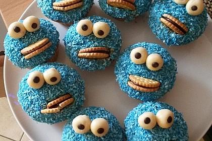 Krümelmonster Cupcakes 3