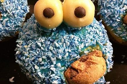 Krümelmonster Cupcakes 65