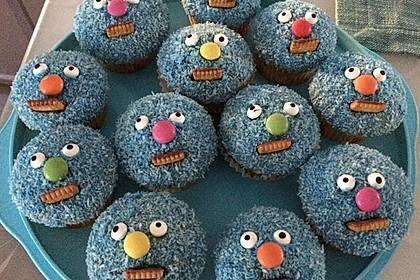 Krümelmonster Cupcakes 104