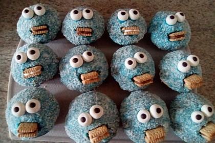 Krümelmonster Cupcakes 174