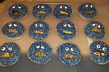 Krümelmonster Cupcakes 211